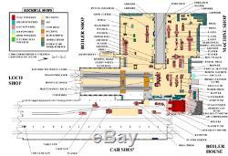Ho / Hon3 Ebt East Broad Top Machine Shop Structure Laser Cut Kit Modèles Btm