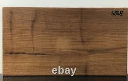 John Boos 1887 Collection Walnut Rustic Edge Cutting Board 21 Large 1 Piece