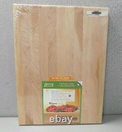 John Boos R02 18 X 24 Boos Bloc Solid Rock Maple Cutting Board