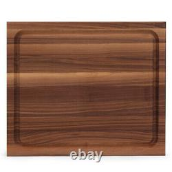 John Boos Reversible 21 Au Jus Carving Cutting Board Avec Juice Groove, Walnut