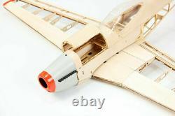 Kit D'avion P51 Rc Laser Cut Plane Balsa Modèle De Bois Ailespan 1000mm