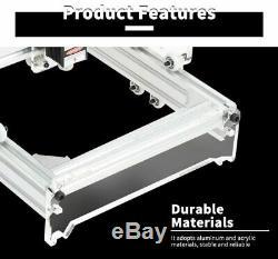 Kit De Bricolage De Machine De Gravure Au Laser Découpant L'outil En Bois De L'imprimante De Bureau 3000mw