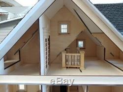 Kit De Maisons De Poupée Coupées Au Laser Clarkson Craftsman Découpées Au Laser, À Une Échelle De 112 Ou 1 000 00081