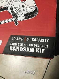 Kit Portable De Scie De Bande 10 Ampères Vitesse Variable De Coupe Profonde Pour L'outil Lourd De Coupe