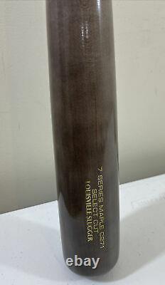 Louisville Slugger 7 Series Maple C271 Sélectionner Coupe Bois Bat De Baseball 32 Pouces
