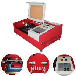 Machine De Découpe À Gravure Laser Co2 40w, 12 X 8 K40 Bureau Bricolage Laser En Bois