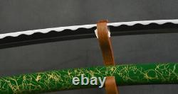 Main Forgée T1095 Carbon Steel Katana Épée Japonaise Très Forte Coupe D'arbres