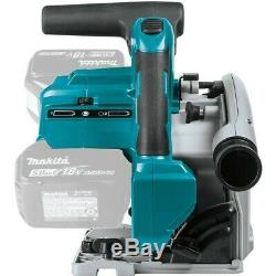 Makita Dsp600zj 36v Double 18v Brushless Plunge Circulaire Cut Saw 165mm Unité Nu