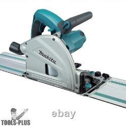 Makita Sp6000j1 6-1/2 Plunge Cut Circular Saw + 55 Track Kit Nouveau