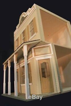 Market Place 1 Pouce Échelle Dollhouse Kit Laser Cut