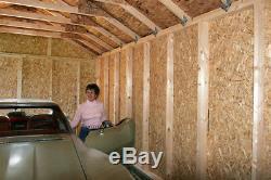 Meilleur Barns Sierra 12x16 Bois Rangement Garage Remise Kit All Pre-cut