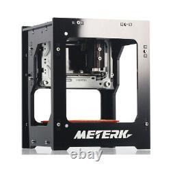 Meterk Desktop 1500mw Mini Diy Bluetooth Laser Gravure Machine D'imprimante De Coupe