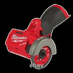 Milwaukee 2522-20 M12 3 Compact Cut Off Outil Bare Outil Nouvelle Livraison Gratuite