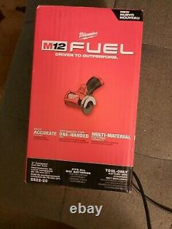 Milwaukee 2522-20 M12 Carburant 3 Cordless Découper Outil Grinder Nouveau