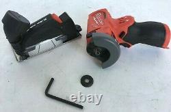 Milwaukee 2522-20 M12 Fuel 12-volt 3-inch Cordless Cut Off, N