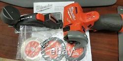 Milwaukee 2522-20 M12 Fuel 3 Compact Cut Off Outil Nouveau Outil Seulement Livraison Gratuite