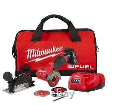 Milwaukee 2522-21xc M12 Fuel 3 Compact Cut Tool Kit Avec(1) Batterie 4ah