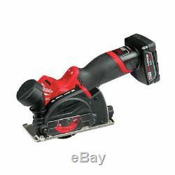 Milwaukee 2522 M12 Fuel 3 Cut Off Outil Grinder Kit Avec Batterie Et Chargeur