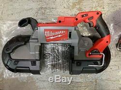Milwaukee 2729-20 M18 Fuel Saw Cut Band Profonde (outil Seulement) Nouveau
