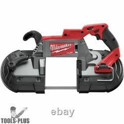 Milwaukee 2729s-20 M18 Carburant Découpé Deep-trigger Bande Scie (outil Seulement) Nouveau