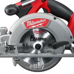 Milwaukee 2730-21 18 Volt 6-1 / 2 Pouces 5.0ah M18 Fuel Circulaire Sans Fil Kit De Scie