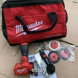 Milwaukee M12 Fuel 12 Volt 3 In. Kit De Sciage Sans Fil Sans Brosse W Sac De Transport