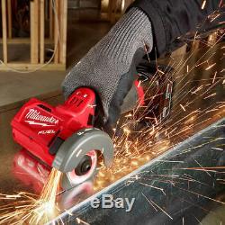Milwaukee M12 Fuel 2522-21xc Trousse À Outils Sans Fil, 12 Volts, 3 Pouces, 4,0 Ah