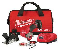 Milwaukee M12 Fuel 3 Cut Compact Hors Tool Kit Avec Accessoires XC # 2522-21xc