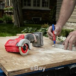 Milwaukee M12 Fuel 3in Cut Off Compact Outil Kit- 1 Chargeur De Batterie