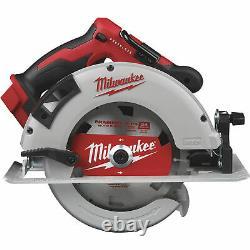 Milwaukee M18 Sans Brosse Sans Fil 7 1/4po Outil De Scie Circulaire Seulement Modèle# 2631-20