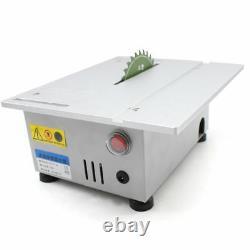 Mini Banc Table Supérieure Scie Lame Boiseries Coupe Polissage Machine À Découper Us