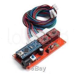 Mini Machine De Gravure Laser 30x40cm Logo Diy Découpant 500mw Marquant L'imprimante En Bois