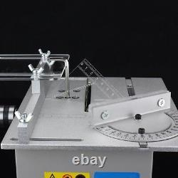 Mini Precision Table Bench Saw Blade Diy Woodworking Cutting Home Machine D