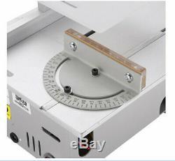 Mini Scie À Table Banc Portable De Précision Lame De Coupe Du Bois Machine Polonaise