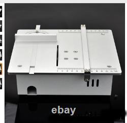 Mini Table Circulaire Lame De Scie À Bois Banc Artisanat Bricolage Coupe Machine-outil