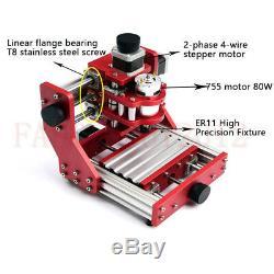 Mini-routeur Gravure De Découpe Laser De Fraisage En Métal Machine Pcb Bois 1310 Engraver