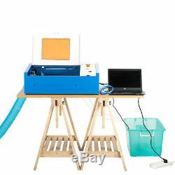 Mise À Niveau 40w Usb Laser Engraver Gravure Machine De Découpe Cutter LCD D'urgence