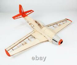 Mise À Niveau Rc Laser Cut Plane Balsa Wood Airplane Model P51 Kit Wingspan 1000mm