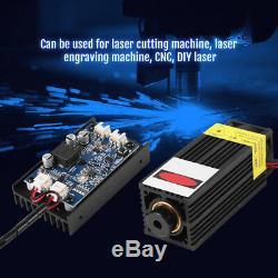Module De Gravure De Tête Laser 15w Outil De Coupe D'inscription De Bois Blu-ray Ttl 450nm