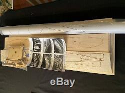 Nick Ziroli Plans Géant Échelle R / C P40 Warhawk Court Bois Laser Cut Kit Et Les Plans