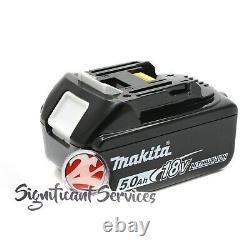 Nouveau Makita Xss02z 18v Lxt 5.0 Ah Li-ion Batterie Sans Fil 6-1/2 Kit De Scie Circulaire