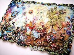 Nouveau Puzzle En Bois Hand Cut The Gnome Mondeen Boîte En Bois