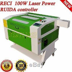 Nouveau! Ruida Reci W2 Co2 Gravée Au Laser Et Machine De Coupe 700mm 500mm Électrique