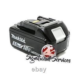 Nouvelle Makita Xss02z 18v Lxt 5.0 Ah Li-ion Batterie Sans Fil 6-1/2 Scie Circulaire