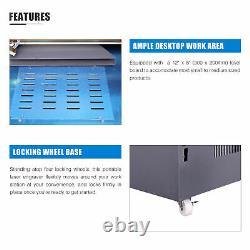 Omtech Co2 Laser Graveur Gravure Cutter Cutting 12x 8 40w LCD Red Dot K40