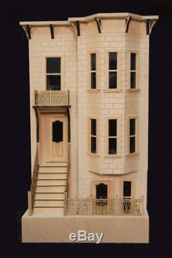 Park Avenue 1 Inch Échelle Dollhouse Kit Laser Cut