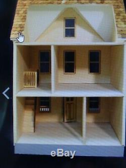Penny Lane 1 Pouce Échelle Dollhouse Kit Laser Cut