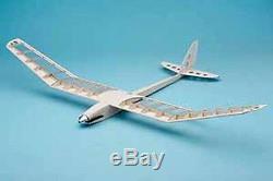 Pilot Rc Planeur Avion Balsa Lavande Laser Cut Kit 12158