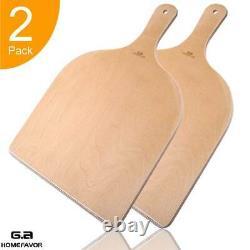 Pizza Peel 12 Large Pizza Paddle Spatula Cutting Board Pour Le Pain De Pizza Au Four