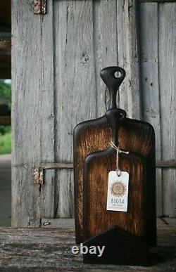 Planches À Découper En Chêne En Bois Avec Poignée, Planche À Découper Rustique Planche À Bois